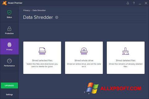 Screenshot Avast Premier Windows XP