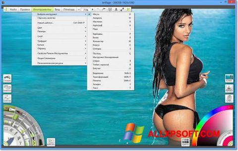 Screenshot ArtRage Windows XP