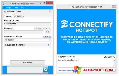 Screenshot Connectify Hotspot Windows XP