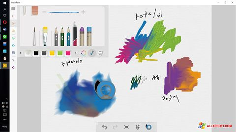 Screenshot Fresh Paint Windows XP
