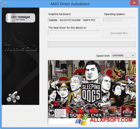Screenshot AMD Driver Autodetect Windows XP