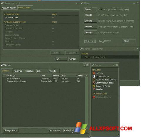 Screenshot Steam Windows XP