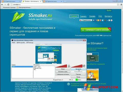 Screenshot SSmaker Windows XP