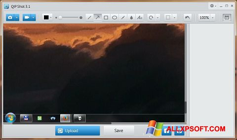 Screenshot QIP Shot Windows XP