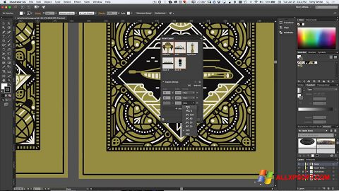 Screenshot Adobe Illustrator Windows XP