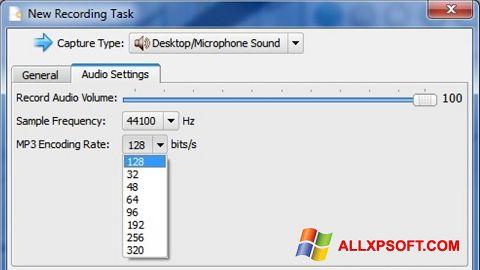 Screenshot SMRecorder Windows XP