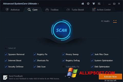 Screenshot Advanced SystemCare Ultimate Windows XP