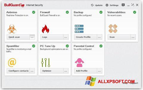 Screenshot BullGuard Windows XP