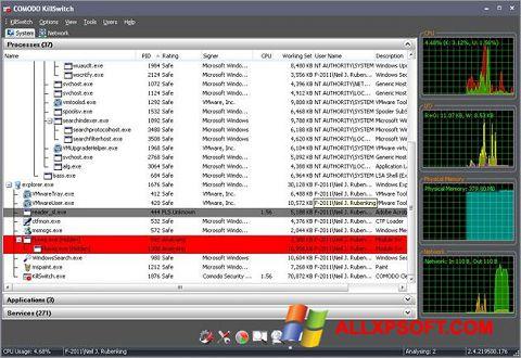 Screenshot Comodo Cleaning Essentials Windows XP
