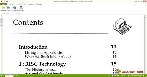 Screenshot Hamster PDF Reader Windows XP