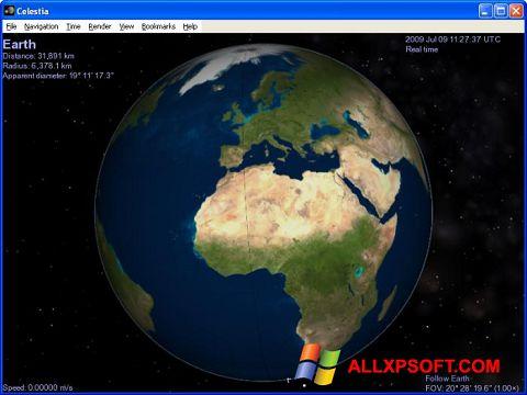 Screenshot Celestia Windows XP