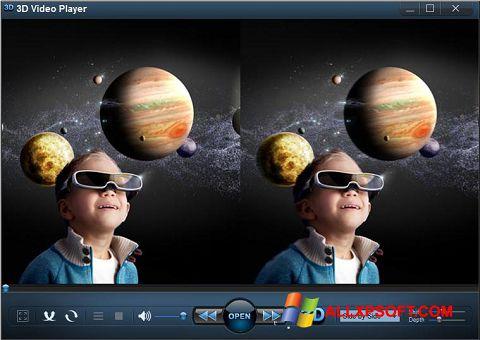 Screenshot 3D Video Player Windows XP
