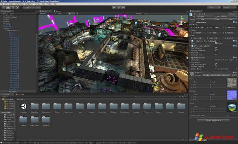 Screenshot Unity 3D Windows XP
