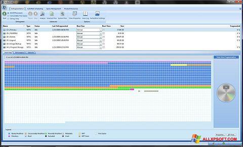 Screenshot PerfectDisk Windows XP