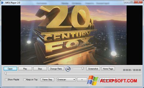 Screenshot MKV Player Windows XP