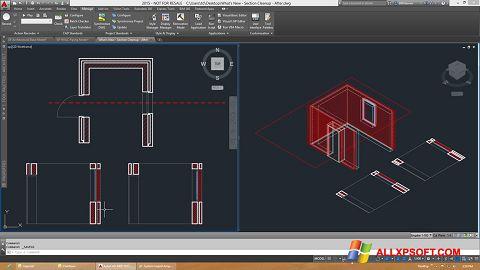 Screenshot AutoCAD Architecture Windows XP