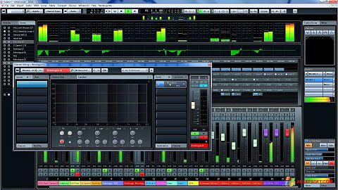 Screenshot Cubase Windows XP