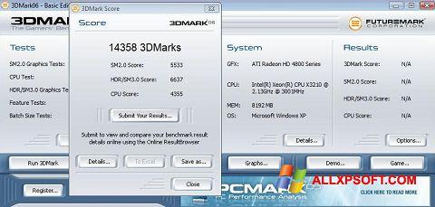 Screenshot 3DMark06 Windows XP