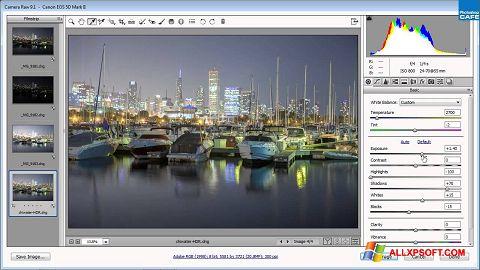 Screenshot Adobe Camera Raw Windows XP