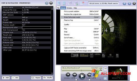 Screenshot FLV Player Windows XP