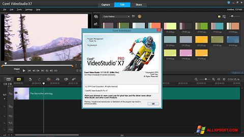 Screenshot Corel VideoStudio Windows XP