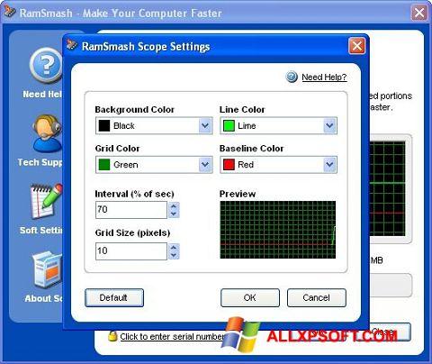 Screenshot RamSmash Windows XP