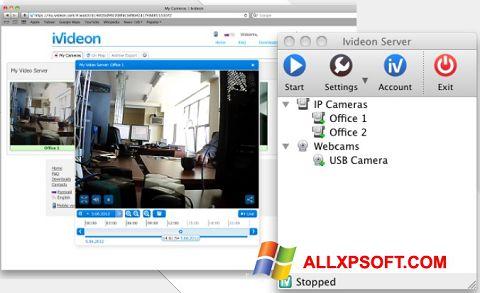 Screenshot Ivideon Server Windows XP
