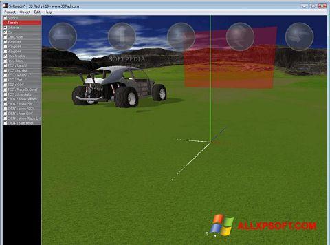 Screenshot 3D Rad Windows XP