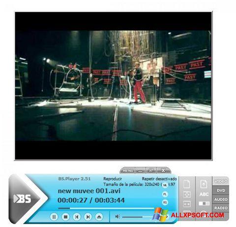 Screenshot BSPlayer Windows XP