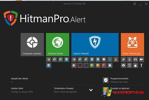 Screenshot HitmanPro Windows XP