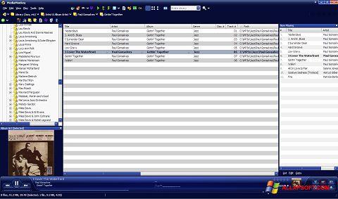 Screenshot MediaMonkey Windows XP