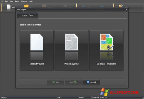 Screenshot PhotoMix Collage Windows XP