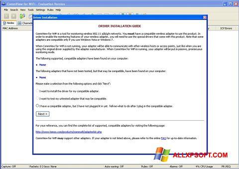 Screenshot CommView for WiFi Windows XP