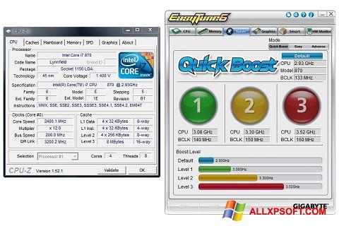 Screenshot EasyTune Windows XP