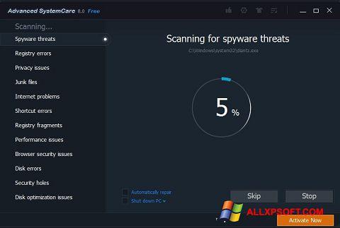 Screenshot Advanced SystemCare Pro Windows XP