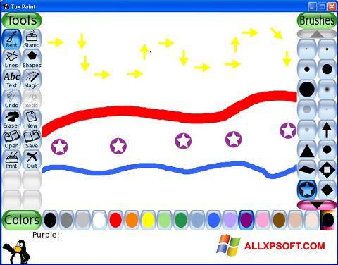 Screenshot Tux Paint Windows XP