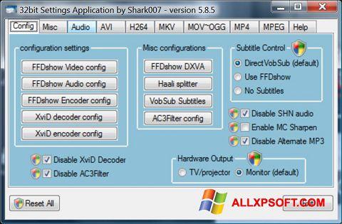 Screenshot Vista Codec Package Windows XP