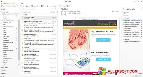 Screenshot eM Client Windows XP