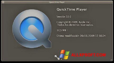 Screenshot QuickTime Windows XP