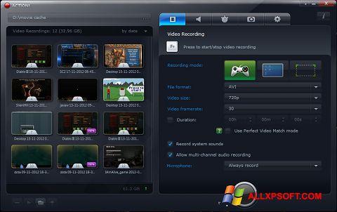 Screenshot Action! Windows XP