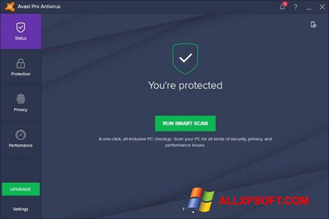 Screenshot Avast! Pro Antivirus Windows XP