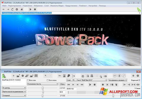Screenshot BluffTitler Windows XP