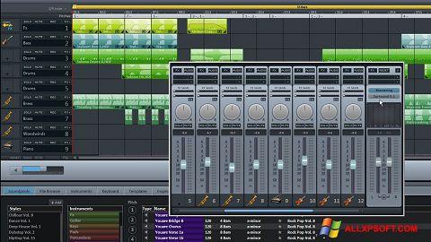 Screenshot MAGIX Music Maker Windows XP