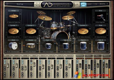 Screenshot Addictive Drums Windows XP