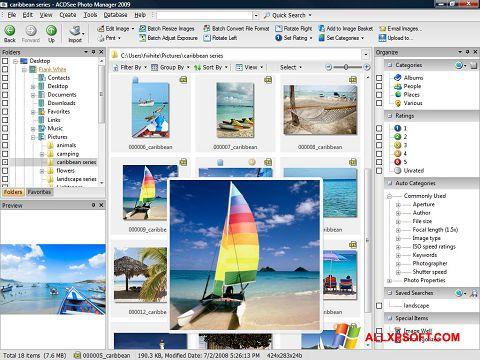 Screenshot ACDSee Photo Manager Windows XP