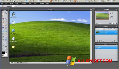 Screenshot LightShot Windows XP