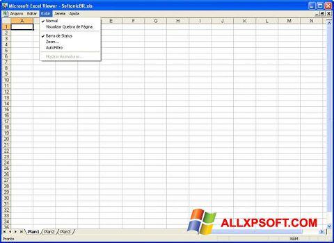 Screenshot Excel Viewer Windows XP