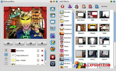 Screenshot WebcamMax Windows XP
