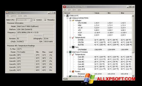 Screenshot Core Temp Windows XP