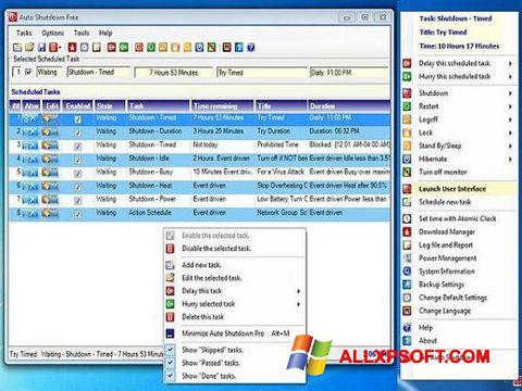Screenshot Auto ShutDown Windows XP